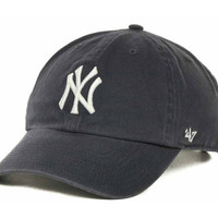 New York Yankees MLB Clean Up Cap
