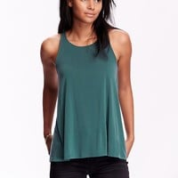 Old Navy Womens Sueded Swing Tank