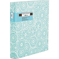 Martha Stewart Home Office™ with Avery™ 1 Heavy Paper Binder with Slant-D Ring, Blue Floral