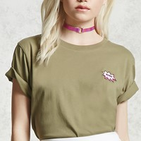 Babe Patch Front Tee