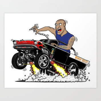 57 Gasser MINOR THREAT, rev 1.0 Art Print by SCREAMNJIMMY