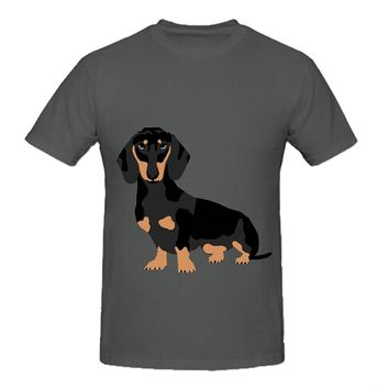 Dachshund Doxie Dog T-Shirts - Men's Top Tee