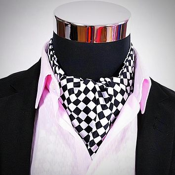 Mosaics Ascot Tie for Men