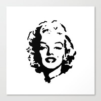 Marilyn Monroe Print - Gift Ideas - Marilyn Monroe - Gift for Her - Dorm Wall Art - Dorm Decor - Teen Wall Art - Black and White Print