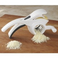 Microplane 39306 2 in 1 Rotary Grater, White