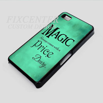 Once Upon a Time rumpelstiltskin Magic always comes at a price deary case for iPhone 4 Blackcase for iPhone 4/4S/5 iPod 4/5 Galaxy S2/S3/S4/Note HTC Blackberry