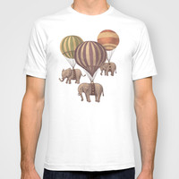 Flight of the Elephants T-shirt by Terry Fan