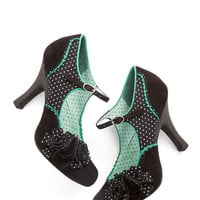 ModCloth Vintage Inspired You Look Lively! Heel