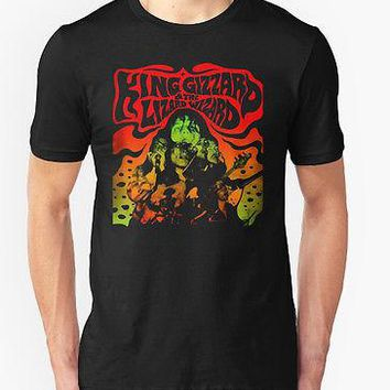 KING GIZZARD AND THE WIZARD LIZARD T SHIRT PSYCHEDELIC ROCK AUSTRALIAN MUSIC 1