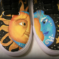 Custom Painted Keds-Style Shoes (Made to Order)