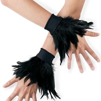 Feather Wrist Cuffs