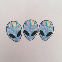 Trippy Alien Sticker Set