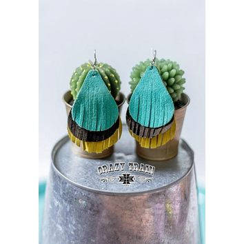 Tres Leches Suede Earrings by Crazy Train