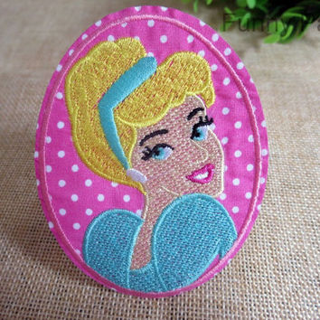 Disney Cinderella Princess Iron on Patch 65-HA