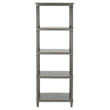 Ollie Bookcase, Gray, Bookcases & Bookshelves