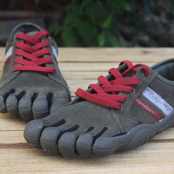 """VIBRAM Fivefingers"" Men Multicolor Casual Rock Climbing Five Fingers Sneakers Running Shoes"