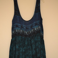 Green And Blue Tank Top (Urban Outfitters)