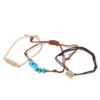 With Love From CA Elephant Bracelet Pack - Womens Jewelry - Multi - One