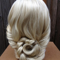 Elsa Frozen Coronation Princess Wig Screen Quality Custom Couture Styled