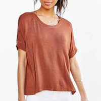 Truly Madly Deeply Washed Ruby Tee-