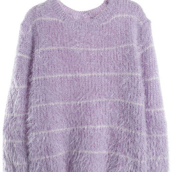 Cupshe Knitz by For Love Colorful Ribbed Sweater