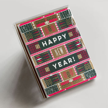 Happy New Year Ornamental Boxed Set