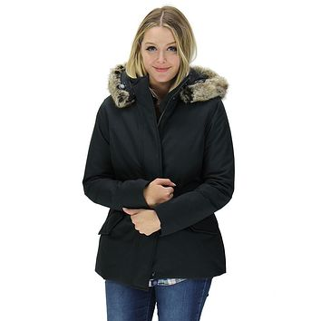Cheviot Waterproof Breathable Jacket in Black by Barbour
