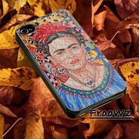 Cellphone,Accessories,Case,IPhone Case,Samsung Galaxy S3,Samsung Galaxy S4,IPhone 4/4s,Iphone 5/5s/5c,Rubber,Cover-Frida kahlo-V280612