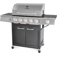 Backyard Grill 5-Burner Gas Grill, Stainless Steel - Walmart.com