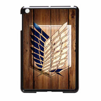Attack On Titan Legion Logo Wood iPad Mini 2 Case