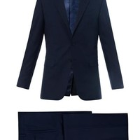 Byard single-breasted wool suit