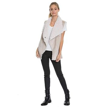 Shearling Maddy Reversible Vest by Dylan (True Grit)