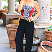 READY TO GO PALAZZO PANTS IN BLACK