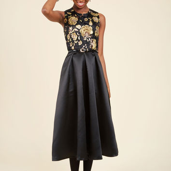 Event of the Age Midi Dress | Mod Retro Vintage Dresses | ModCloth.com