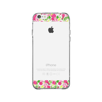 Lilly Pulitzer Delta Zeta iPhone 6 Clear Case