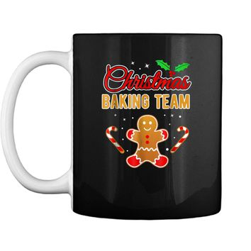 Christmas Baking Team Gingerbread Man  Mug