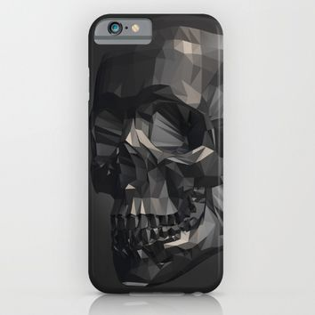 Skull in Low Poly Style iPhone & iPod Case by Taoteching / C4Dart