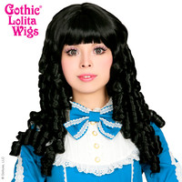 Gothic Lolita Wigs®  Ringlet Redux™ Collection - Black -00118