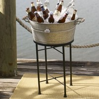 Galvanized Metal Party Bucket & Stand | Pottery Barn