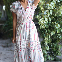 Dreamcatcher White Maxi Dress