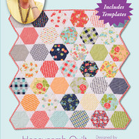 Eleanor Burns, Signature Pattern, Quilt in a Day, Honeycomb Quilt