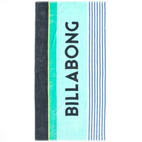 Billabong Spinner Jumbo Towel Turquoise/White One Size For Men 26349127701