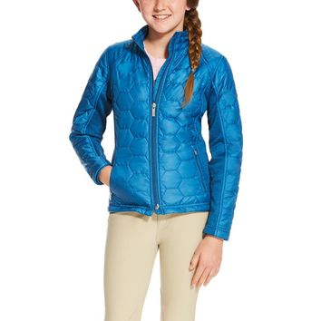 Ariat Girl's Volt Jacket - Rush of Blue