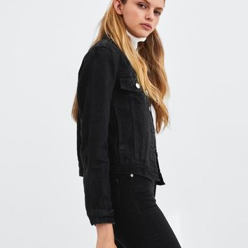AUTHENTIC DENIM JACKET - NEW IN-TRF | ZARA United States