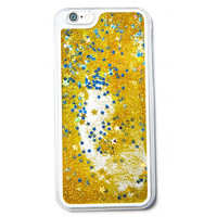 GLITTER WATERFALL PHONE CASE GOLD