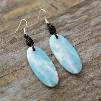 Natural Native Inspired Designer Luxury Earrings