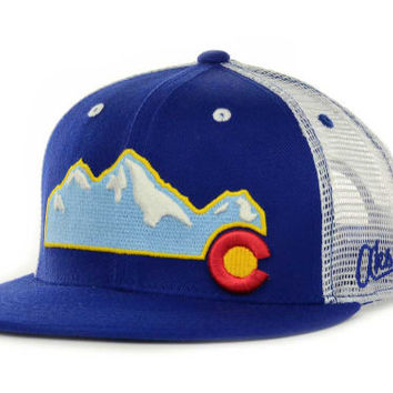 Aksel Colorado Mountain Snapback Cap