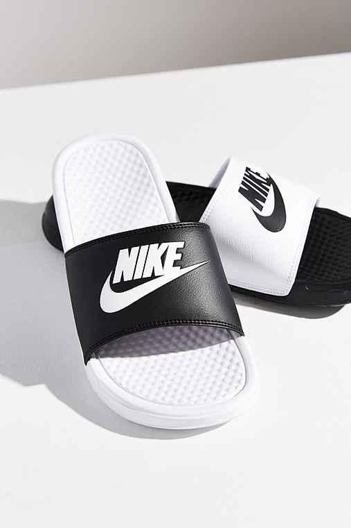 Nike Benassi JDI Mismatch Slide from Urban Outfitters  cb6adf49e6