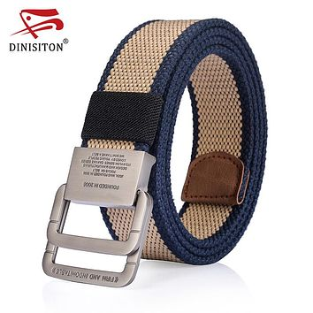 Men's High Quality Military Equipment Belt For men Army Nylon Belts Patriotic Retired Soldiers Canvas Strap