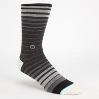 Stance Levels Mens Crew Socks Black Combo One Size For Men 26081214901